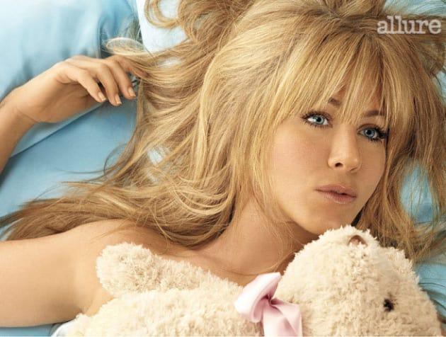 Weird Jennifer Aniston Hairstyle