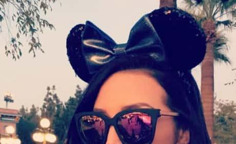 Scheana Marie Shay at Disney