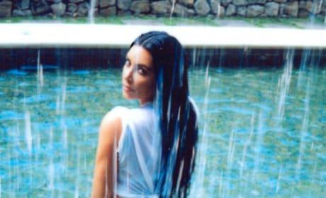 Kim Kardashian Buttocks Shot