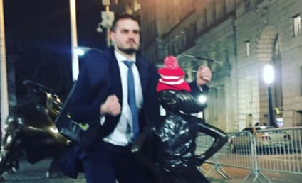 "Dude Humps ""Fearless Girl"" Statue, is Biggest Douche Alive"