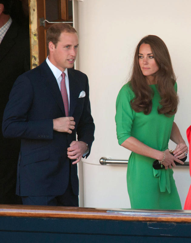 Prince William and Duchess Kate