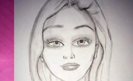 Amanda Bynes Self-Portrait: Sketchy (in a Good Way)!