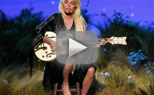 "Lady Gaga Goes Barefoot, Gives Fans ""Million Reasons"" to Cheer at American Music Awards"