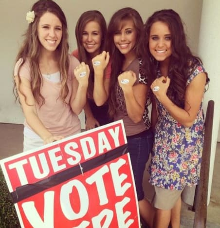 Jana Rocks the Vote