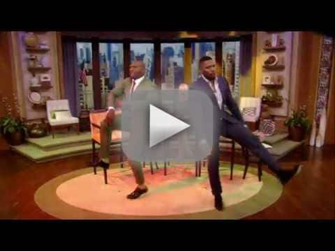 Michael Strahan vs. Terry Crews!