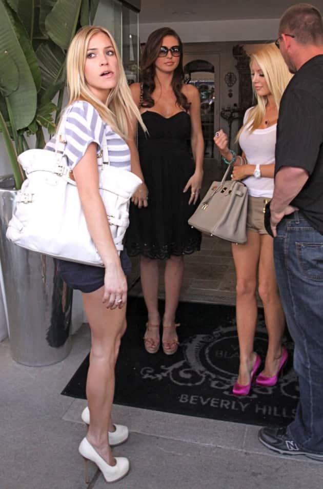 Audrina, Heidi and Kristin Filming