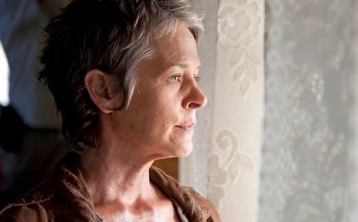 Carol on The Walking Dead