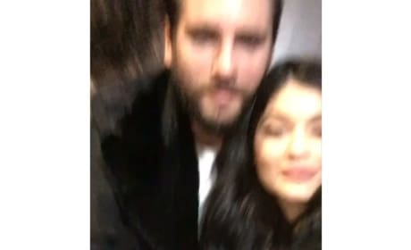 Kylie Jenner With Drunk Scott Disick
