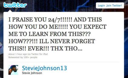 Steve Johnson to God: Come On!!!