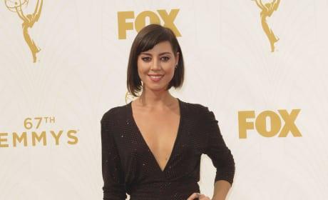 Aubrey Plaza at the Emmys
