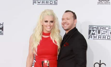 Jenny McCarthy and Donnie Wahlberg: 2015 American Music Awards
