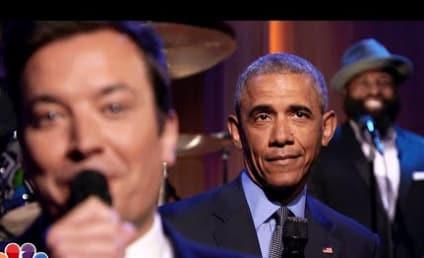 President Obama Slow Jams News with Jimmy Fallon, Mocks Donald Trump