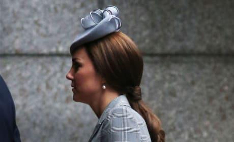 Kate Middleton in Alexander McQueen Photo