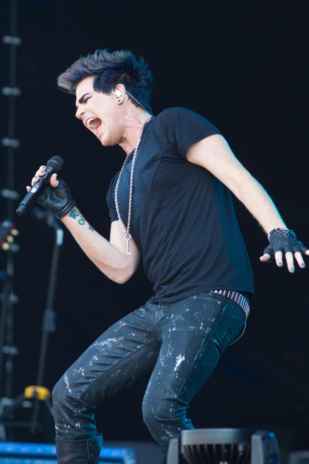 Adam Lambert in Russia