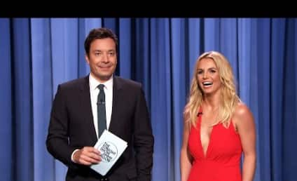 Britney Spears Joins Tinder With Help From Jimmy Fallon!