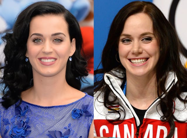 Katy Perry & Tessa Virtue