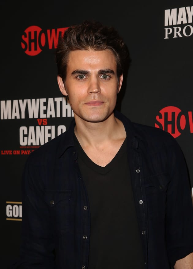 Paul Wesley Red Carpet Pic