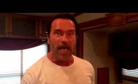 Arnold Schwarzenegger: Leave Room for My Fist!