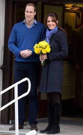 Kate Middleton Leaves Hospital