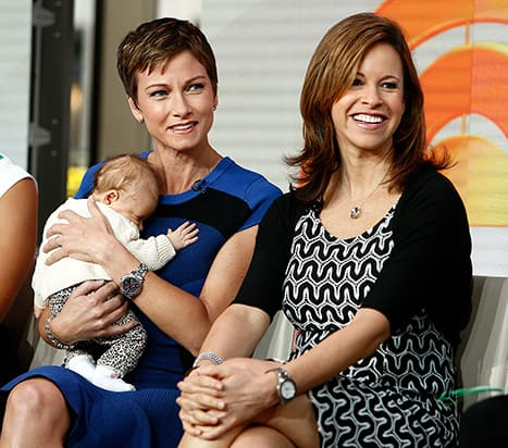 Jenna Wolfe and Stephanie Gosk