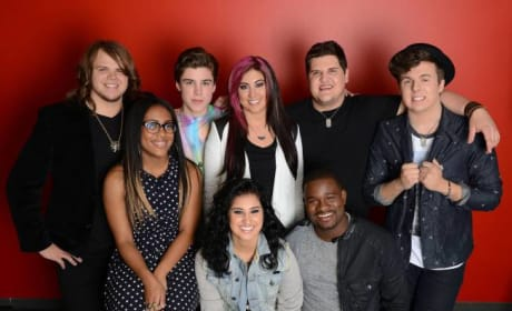 Which member of the American Idol top 8 put on the best performance?