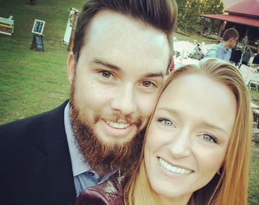 Maci Bookout with Taylor McKinney