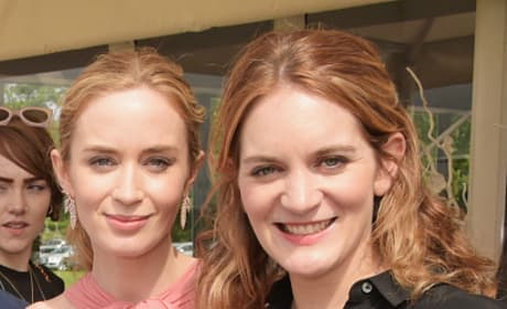Felicity and Emily Blunt