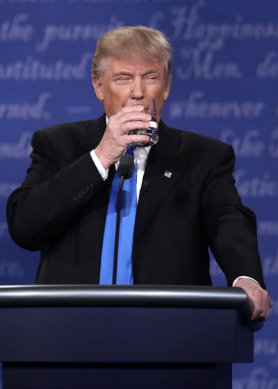 Donald Trump Debate Photo