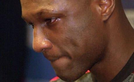 Sad Lamar Odom