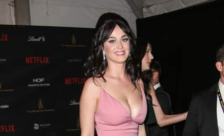 Katy Perry: The Weinstein Company & Netflix 2016 Golden Globe after party