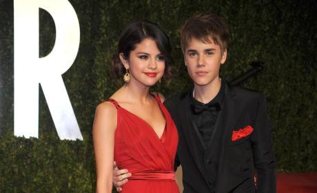 Justin Bieber and Selena Gomez Photo