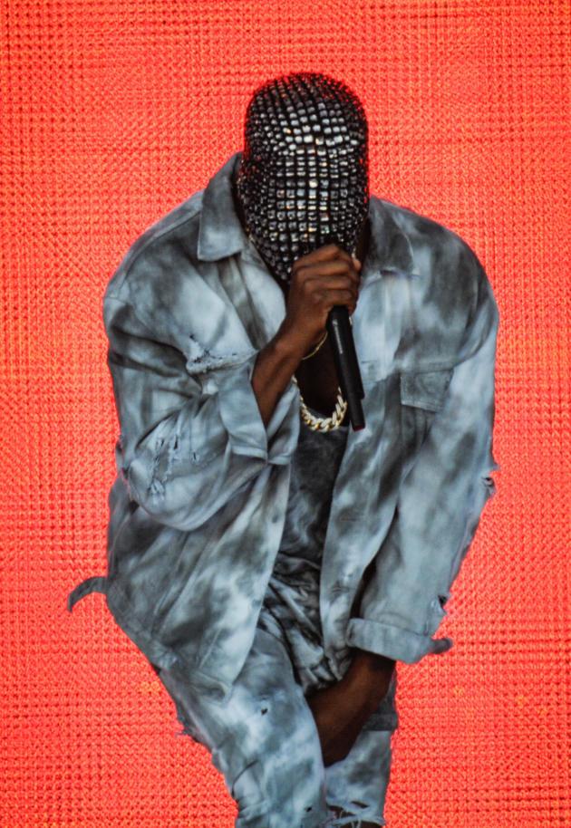 A Masked Kanye West