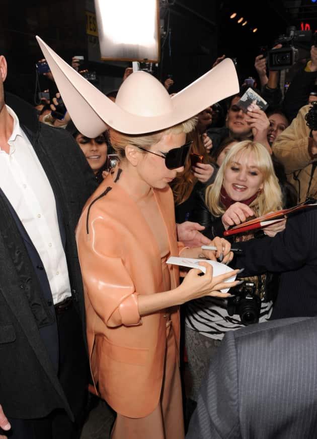Gaga Goes GMA
