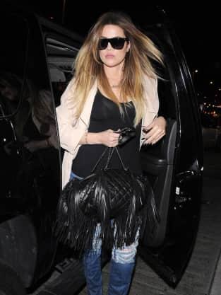 Khloe Kardashian Arrives at LAX