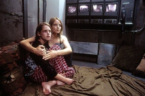 Jodie Foster and Kristen Stewart in Panic Room