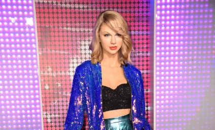 Taylor Swift's Wax Figure, A Sleepy Lakers Fan & More: Star Sightings 12.18.2015