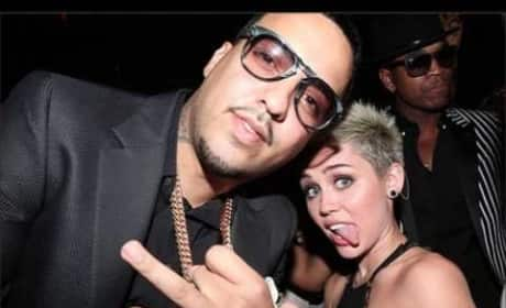 "Miley Cyrus Raps on ""Ain't Worried About Nothin"""