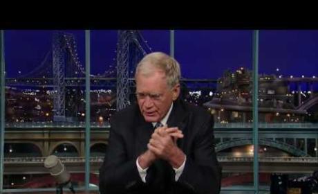 David Letterman Apologizes to Wife