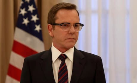 Kiefer Sutherland on Designated Survivor