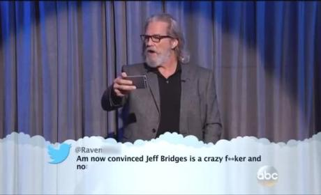 Celebrities Read Mean Tweets... Live!