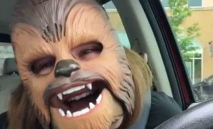 Hilarious Mom Puts on Chewbacca Mask, Internet Falls in Love