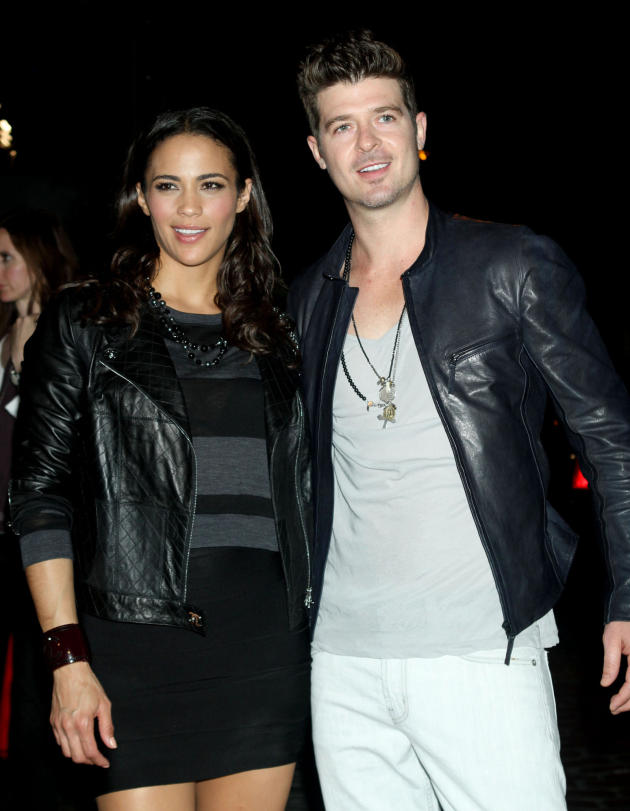 Robin Thicke, Paula Patton