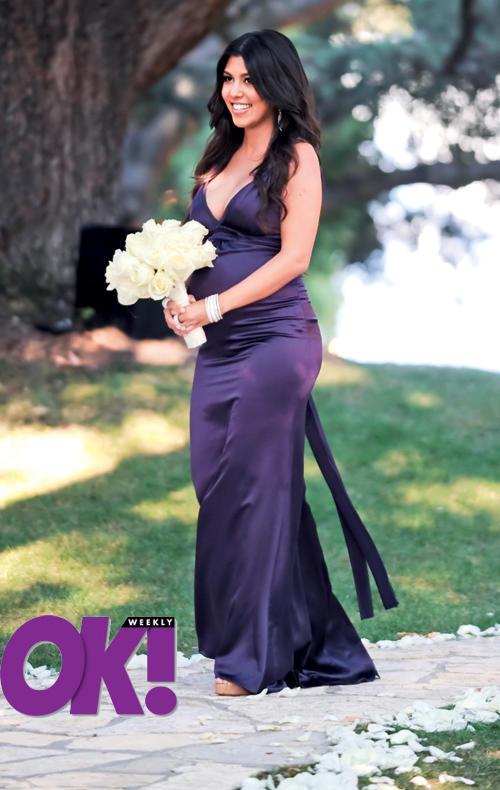 Pregnant Kourtney Kardashian Picture