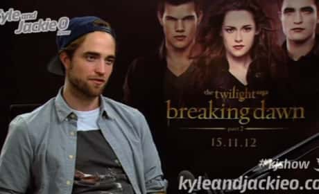 Robert Pattinson on The Kyle & Jackie O Show