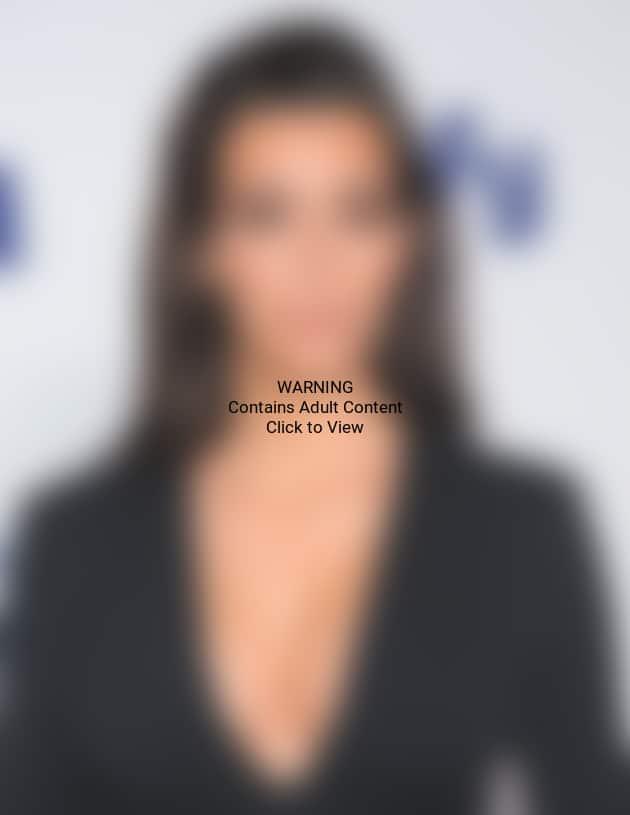 Kim Kardashian with Breasts