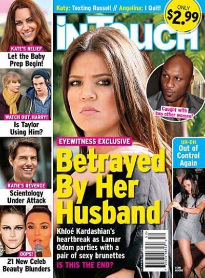 Khloe Kardashian: Betrayed!