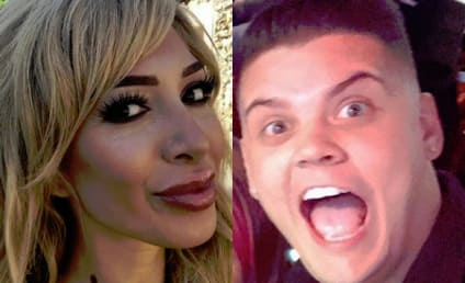 Farrah Abraham & Tyler Baltierra Clash Over Claims That He's Gay