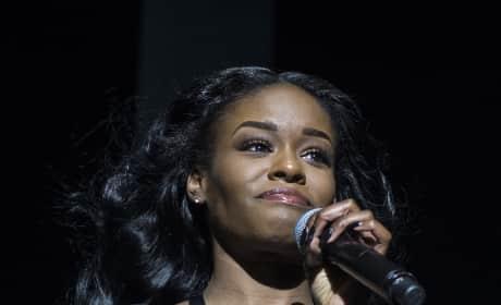 Azealia Banks Rapping