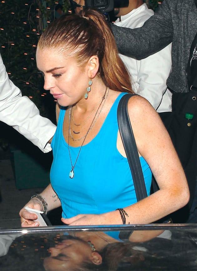 Lindsay Lohan in Beverly Hills