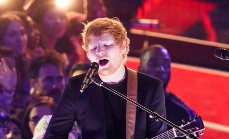 Ed Sheeran at iHeartRadio Music Awards